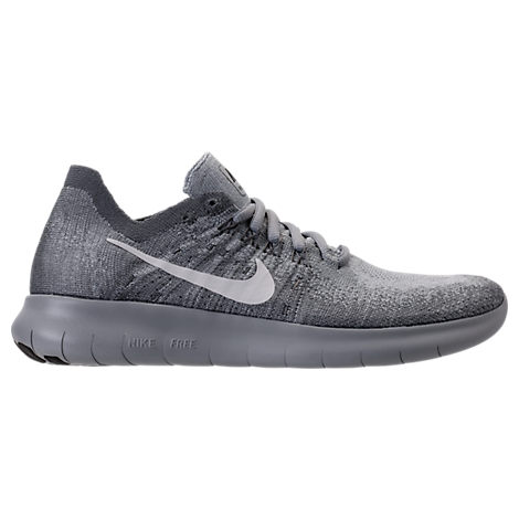 WOMEN'S FREE RN FLYKNIT 2017 RUNNING SHOES, GREY