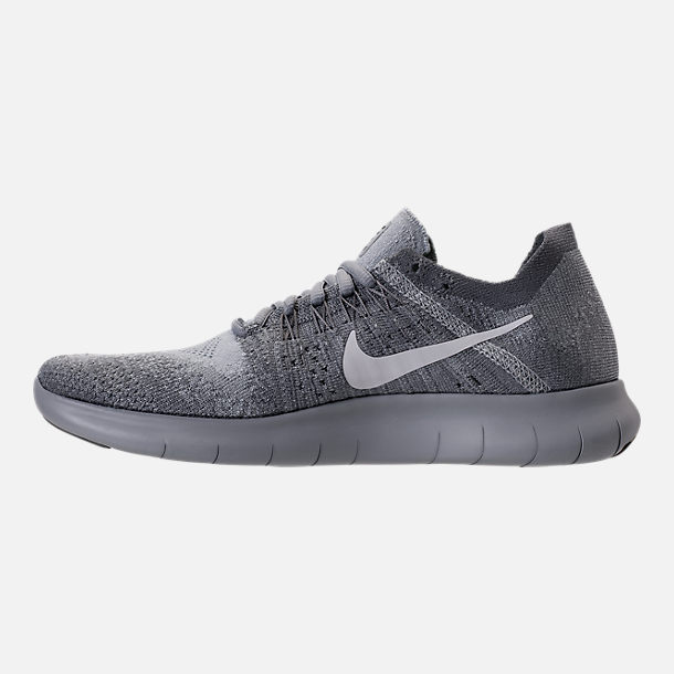 Left view of Women's Nike Free RN Flyknit 2017 Running Shoes