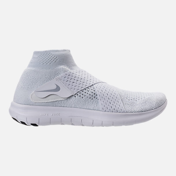 Right view of Men's Nike Free RN Motion Flyknit 2017 Running Shoes