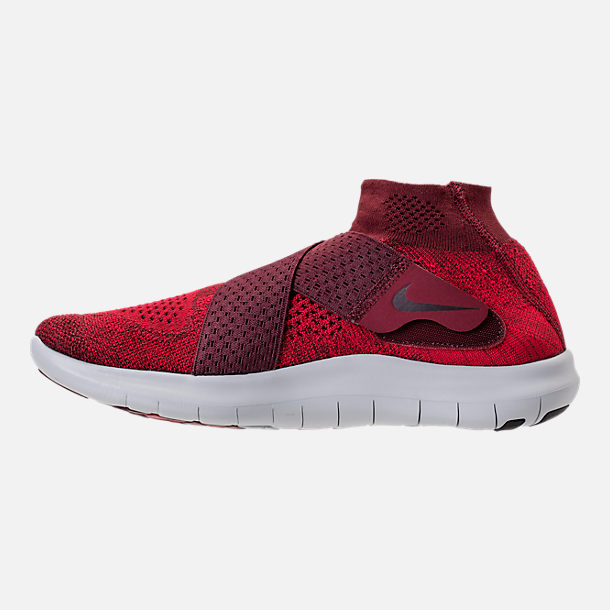 Left view of Men s Nike Free RN Motion Flyknit 2017 Running Shoes 8ea5aca08