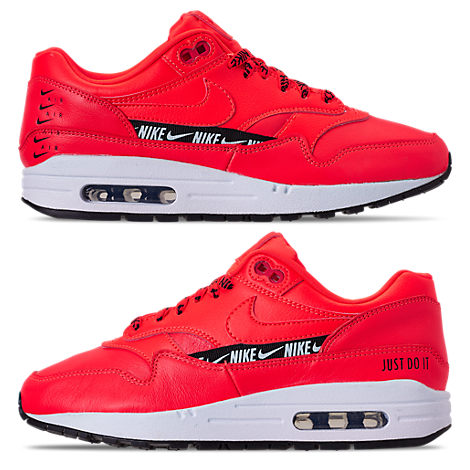 Women'S Air Max 1 Se Running Shoes, Red