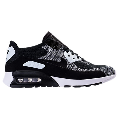 Women'S Air Max 90 Ultra 2.0 Flyknit Casual Shoes, WhiteBlack