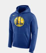 Men's Nike Golden State Warriors NBA Club Logo Fleece Hoodie