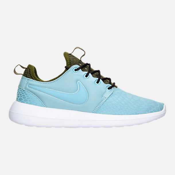 Right view of Women's Nike Roshe Two SE Casual Shoes in Mica Blue/Legion Green