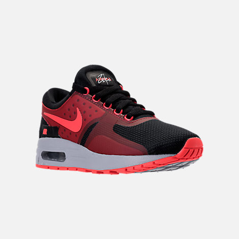 Three Quarter view of Boys' Grade School Nike Air Max Zero Essential Casual Running  Shoes