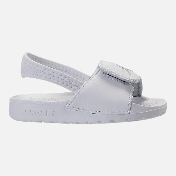 850de12d096 Right view of Boys' Toddler Jordan Hydro 6 Slide Sandals