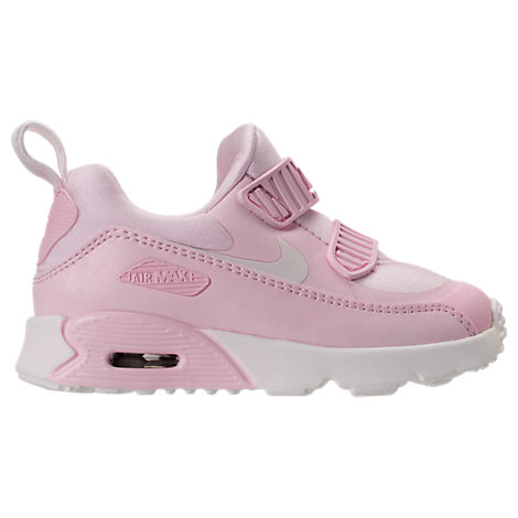 c995578ebee Give  em old school style with the Girls  Toddler Nike Air Max Tiny 90  Running Shoes. Upgraded for little feet with an easy-on design