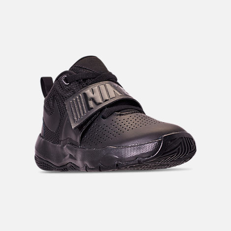 Boys' Preschool Nike Team Hustle D8 Basketball Shoes | Tuggl