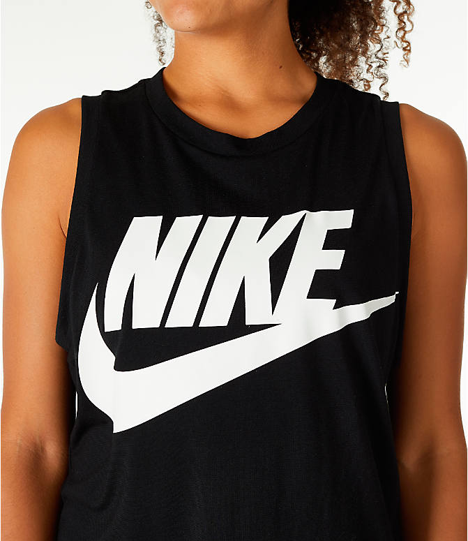 Detail 1 view of Women's Nike Sportswear Essential Muscle Tank