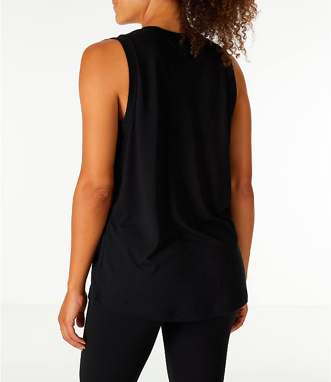 Back Left view of Women's Nike Sportswear Essential Muscle Tank