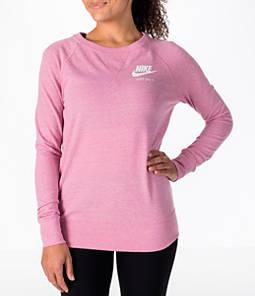 Women's Nike Sportswear Gym VIntage Crew Sweatshirt