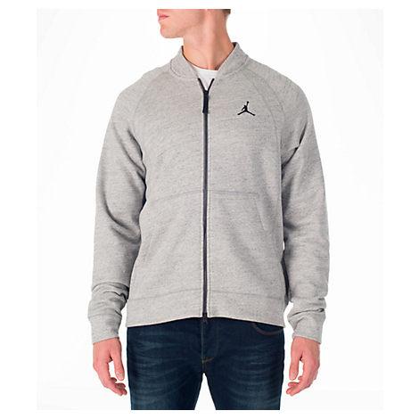 8d9c754ea848 ... Nike Men S Air Jordan Wings Fleece Bomber Jacket