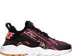 Women's Nike Air Huarache Run Ultra Jacquard Casual Shoes