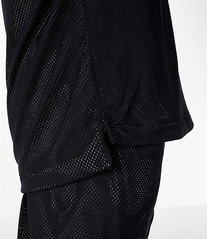 Detail 2 view of Men's Nike Sportswear Air Knit Tank in Black/White