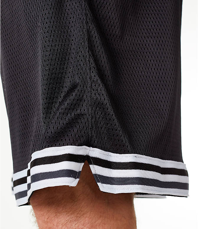 Detail 2 view of Men's Champion Life Basketball Shorts in Black/White