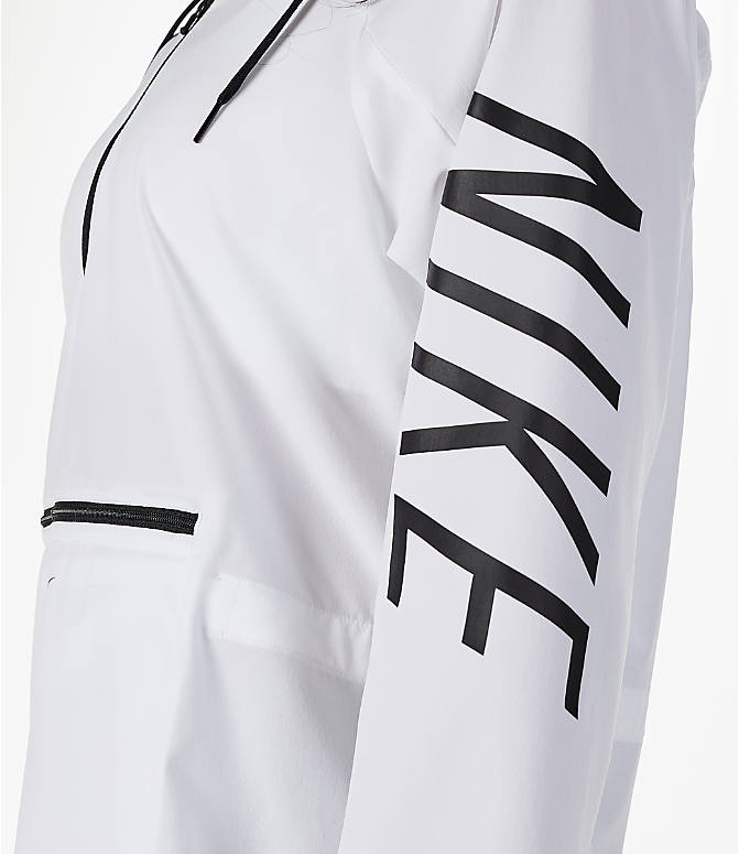 Detail 1 view of Women's Nike Flex Packable Training Jacket in White/Black