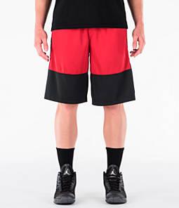 d709fe63090 Men's Air Jordan Rise Solid Basketball Shorts | Finish Line