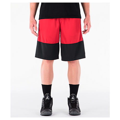 Nike Men S Air Jordan Rise Solid Basketball Shorts d8e8297a3