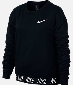 Girls' Nike Dry Studio Training Crew Sweatshirt
