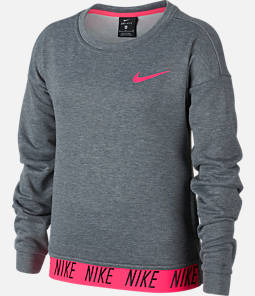 Girls' Nike Dry Studio Training Crew Sweatshirt Product Image