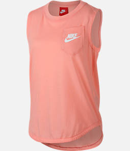 Girls' Nike Sportswear Muscle Tank