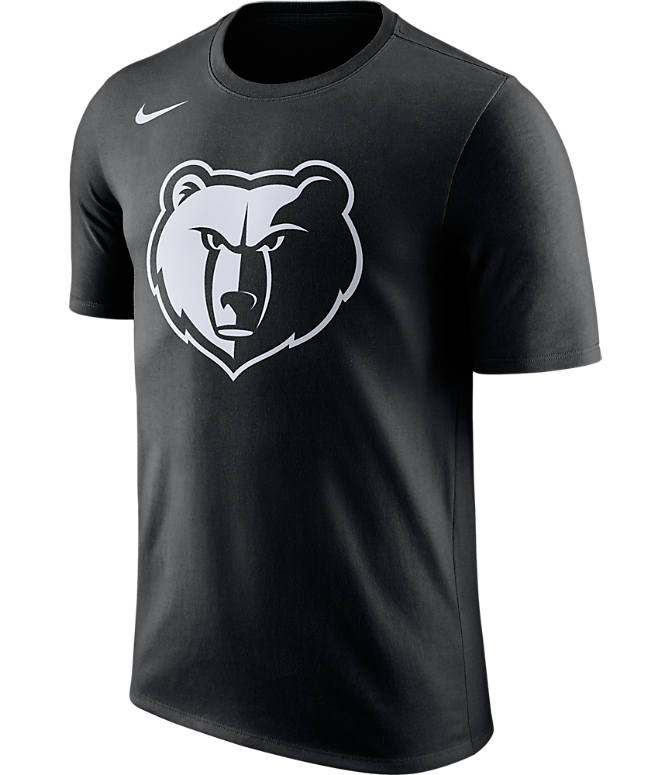 Front view of Men's Nike Memphis Grizzlies NBA Dry City T-Shirt in Black