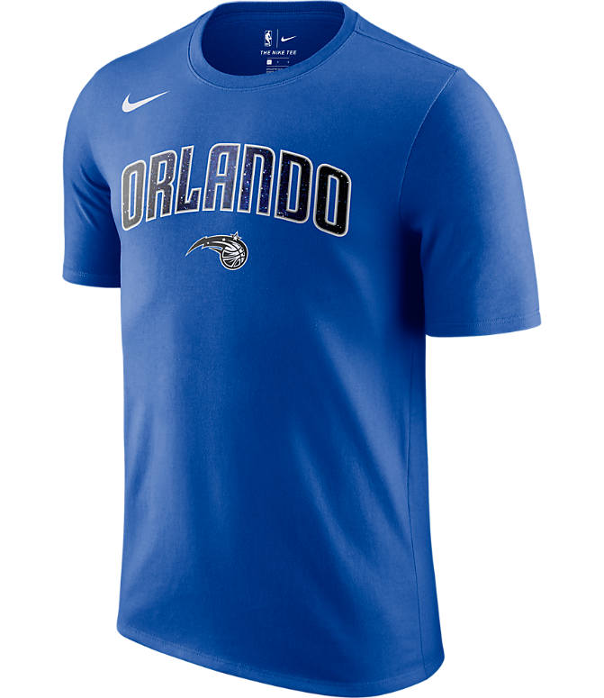Front view of Men's Nike Orlando Magic NBA Dry City T-Shirt in Royal