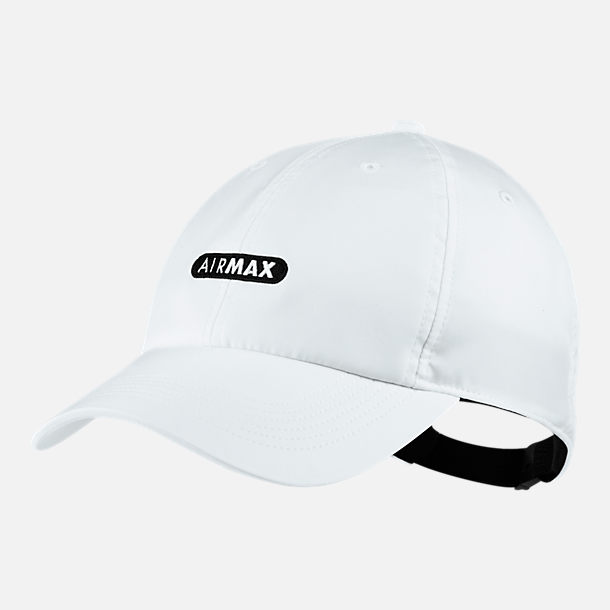 Front view of Unisex Nike Sportswear Heritage86 Hat in White