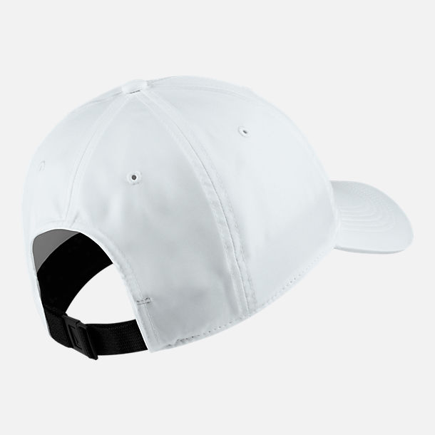 Back view of Unisex Nike Sportswear Heritage86 Hat in White