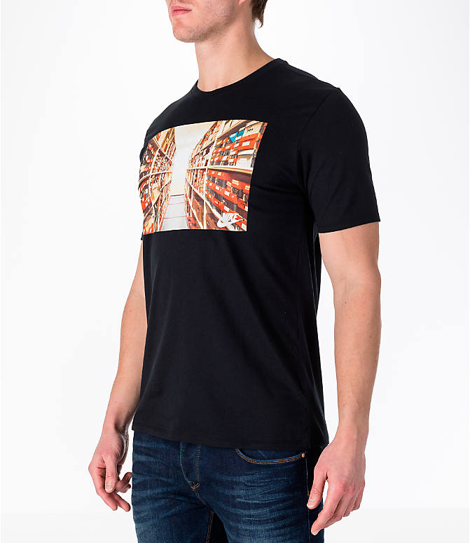 Front Three Quarter view of Men's Nike Sportswear Photo T-Shirt
