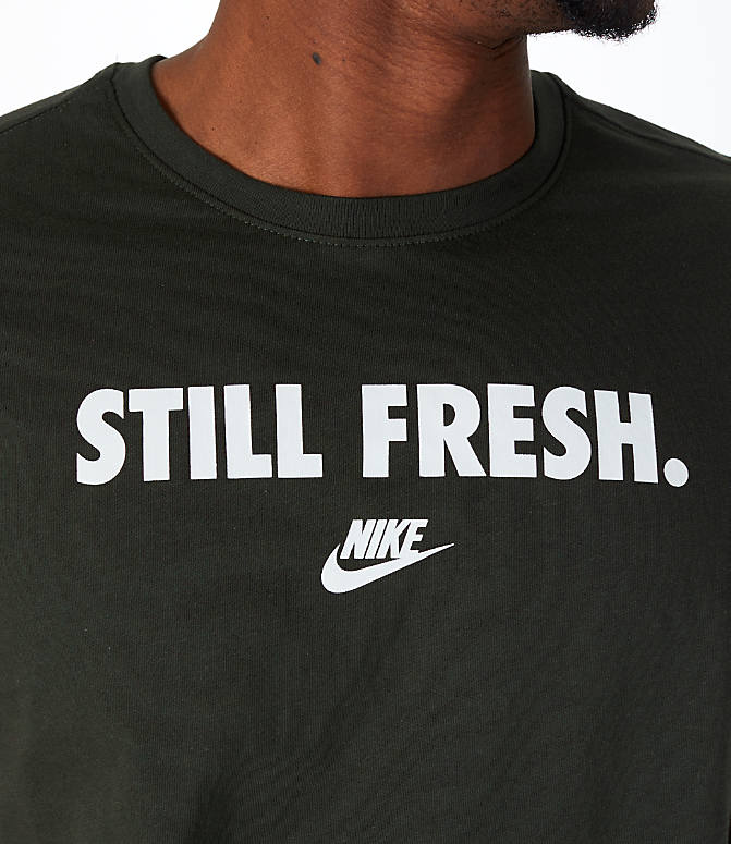 Detail 1 view of Men's Nike Sportswear Still Fresh T-Shirt