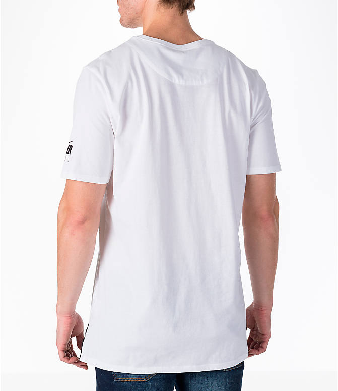 Back Left view of Men's Nike Sportswear Air Force 1 T-Shirt in White