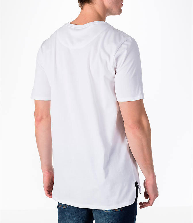 Back Right view of Men's Nike Sportswear Air Force 1 T-Shirt in White