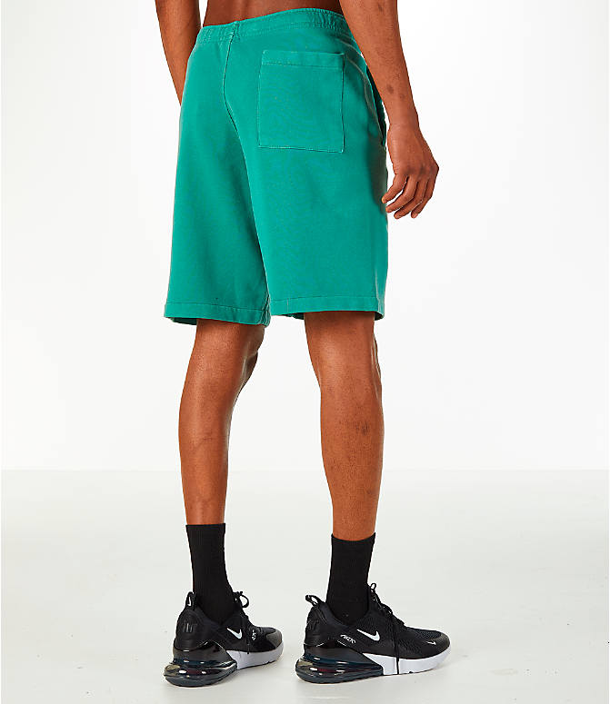 Back Right view of Men's Nike Sportswear Wash Pack Shorts