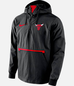 Men's Nike Chicago Bulls NBA Packable Jacket
