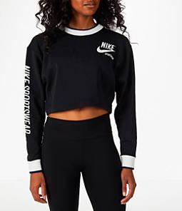 Women's Nike Sportswear Archive Cropped Crew Sweatshirt