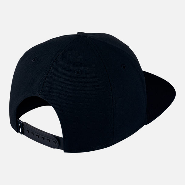 "Back view of Unisex Jordan Jumpman Pro ""CITY OF FLIGHT"" Zip Snapback Hat"