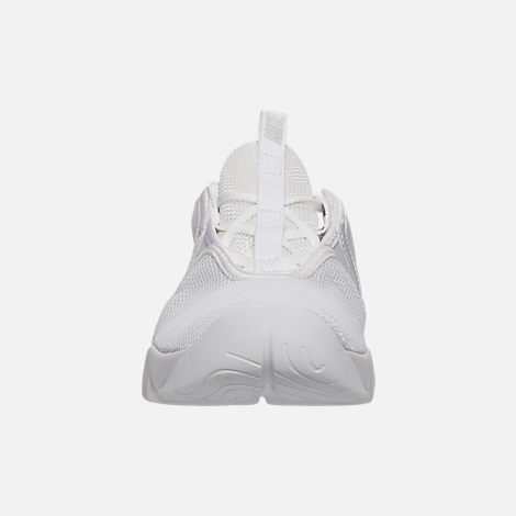 Front view of Women's Nike Loden Casual Shoes in White/Pure Platinum