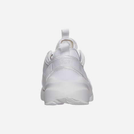 Back view of Women's Nike Loden Casual Shoes in White/Pure Platinum