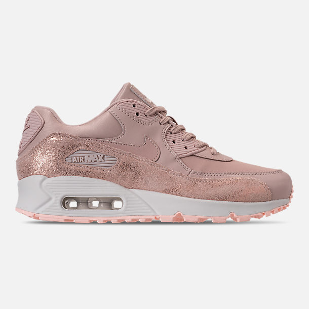 Right view of Women s Nike Air Max 90 Premium Casual Shoes in Particle  Beige Particle b7c26f93b7