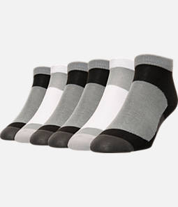 Men's Finish Line 6-Pack No-Show Socks