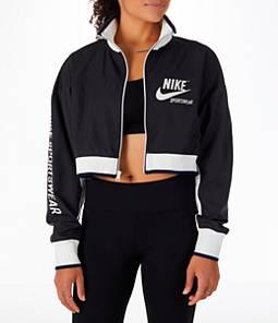 Women's Nike Sportswear Archive Cropped Track Jacket