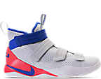 White/Racer Blue/Infrared/Pure Plat