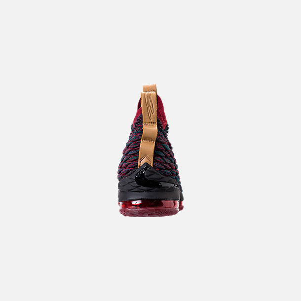 Back view of Men's Nike LeBron 15 Basketball Shoes