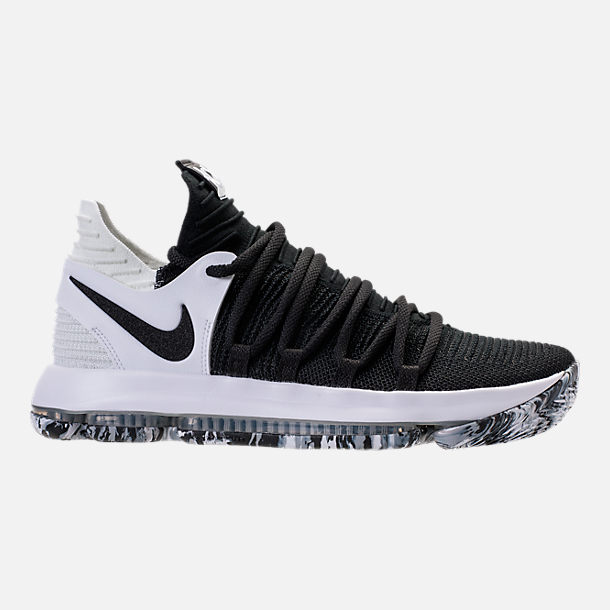 6e01268d417655 Right view of Men s Nike Zoom KDX Basketball Shoes