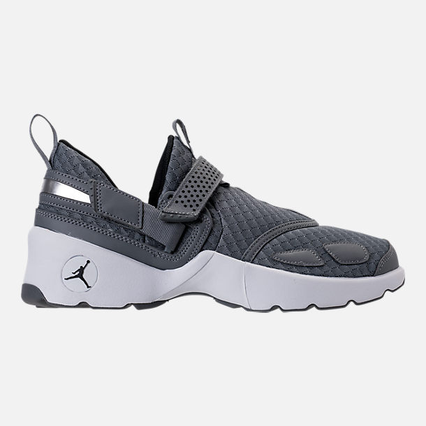 Right view of Men's Air Jordan Trunner LX Training Shoes in Cool Grey/Black/White