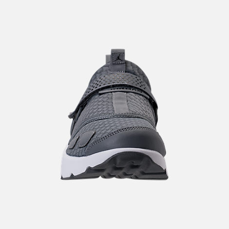Front view of Men's Air Jordan Trunner LX Training Shoes in Cool Grey/Black/White