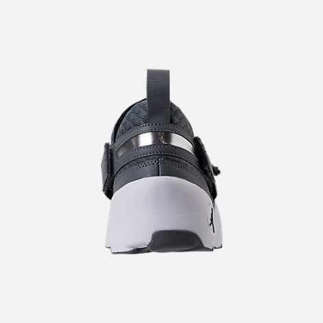 Back view of Men's Air Jordan Trunner LX Training Shoes in Cool Grey/Black/White
