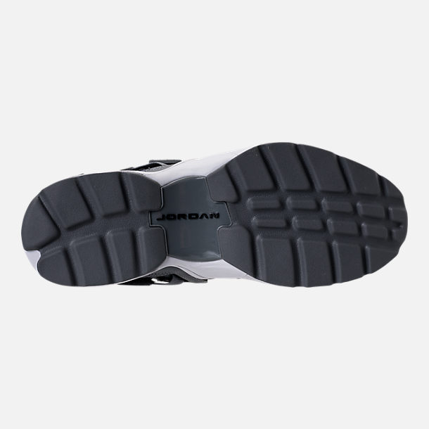 Bottom view of Men's Air Jordan Trunner LX Training Shoes in Cool Grey/Black/White