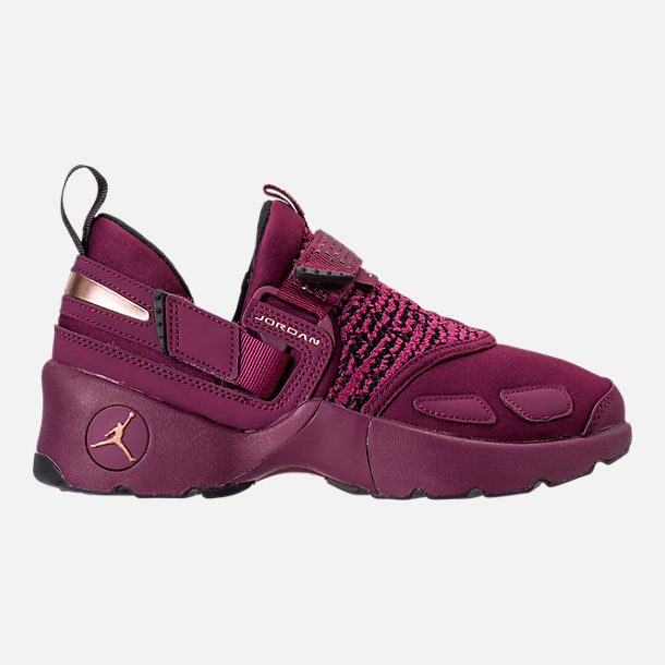 Right view of Girls' Grade School Jordan Trunner LX (3.5y-9.5y) Training Shoes in Bordeaux/Metallic Red Bronze/Black